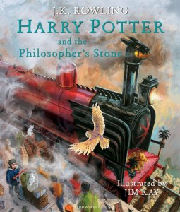 Harry Potter Philosopher's Stone Illustrated Edition