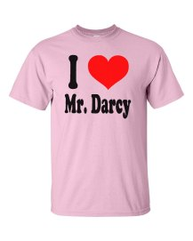 I Love Mr Darcy T-Shirt