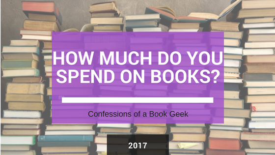 How much do you spend on books 2017