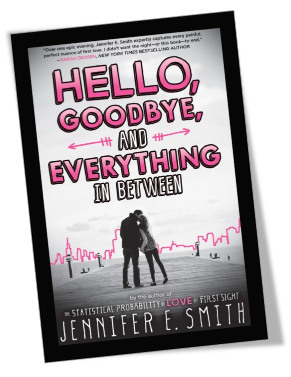 Hello, Goodbye and Everything In Between Book Cover