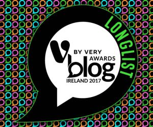 V for Very Blog Awards 2017 Longlist