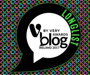 V for Very Blog Awards 2017 Longlist