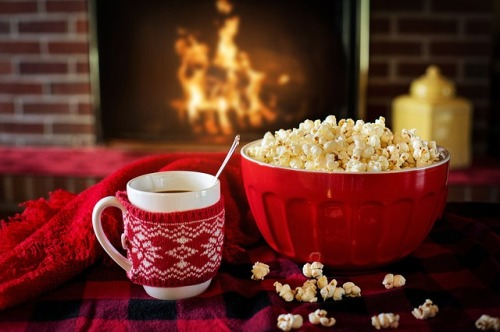Warm and Cosy Snacks Popcorn