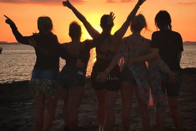 Squadgoals in Ibiza