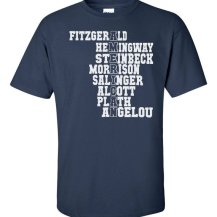Famous American Writers T-Shirt