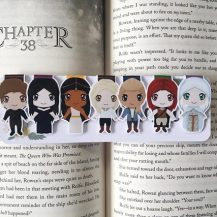 Throne of Glass Bookmarks