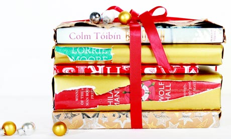 Books Wrapped Christmas Presents