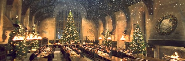 Harry Potter Christmas Great Hall Hogwarts