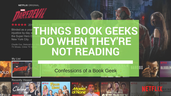 Book Geeks Not Reading
