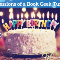 Confessions of a Book Geek Turns 4, with Giveaways!